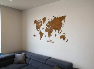 mediniai pasaulio žemėlapiai