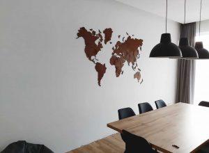 Mediniai zemelapiai, mediniz žemėlapis, dekoracija ant sienos, zemelapiaiantdrobes, zemelapis is medžio2